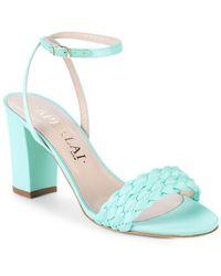 Aperlai - Braided Heel Sandal - Lyst