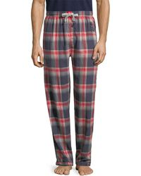 Psycho Bunny - Flannel Pant - Lyst