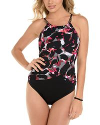 551f1bb85d Magicsuit Petal Pusher Lisa One-piece Swimsuit in Black - Save 40% - Lyst