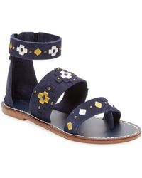Soludos - Embroidery Strap Sandal - Lyst