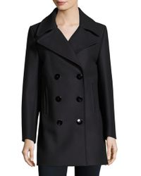 M.i.h Jeans - Wool Double-breasted Coat - Lyst