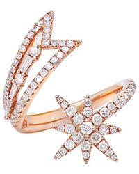 Diana M. Jewels - . Fine Jewelry 14k Rose Gold 0.83 Ct. Tw. Diamond Ring - Lyst