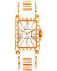Aquaswiss - Women's Grace Collection Diamond Watch - Lyst