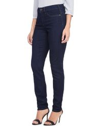 NYDJ - Faded Five-pocket Legging Jeans - Lyst