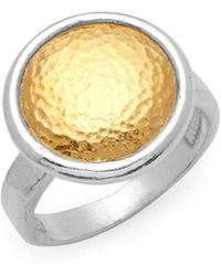 Gurhan - Sterling Silver Textured Ring - Lyst
