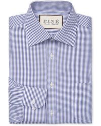 Thomas Pink - Burley Check Classic Fit Traveller Dress Shirt - Lyst