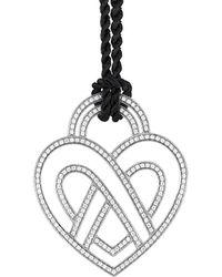Poiray - 18k 3.75 Ct. Tw. Diamond Toggle Necklace - Lyst