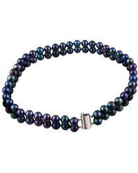Masako Pearls - Double Row Choker Necklace - Lyst