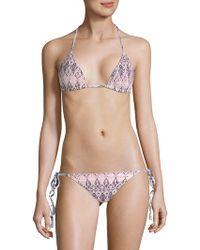 Eberjey - Rumba Gisele Halter Bikini Top - Lyst