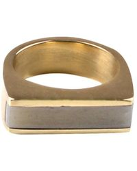 Soko - Horn Line Ring - Lyst