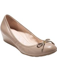 Cole Haan - Tali Grand Leather Wedge - Lyst