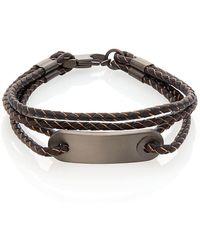 Saks Fifth Avenue | Leather Multi-braided Bracelet | Lyst