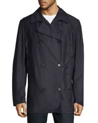 Eidos - Double-breasted Pea Coat - Lyst