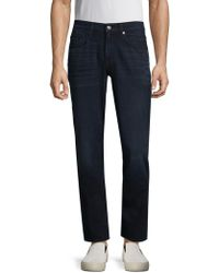 7 For All Mankind - Carsen Straight Jeans - Lyst
