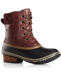 Sorel - Slimpack Ii Waterproof Leather Boots - Lyst
