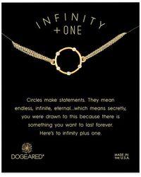 Dogeared - 14k Over Silver Crystal Bracelet - Lyst