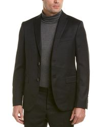 Fendi - Wool Suit With Flat Front Pant - Lyst
