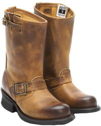 Frye - Engineer 12r Leather Boot - Lyst