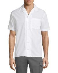 ATM - Cuban Cotton Shirt - Lyst