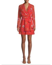 Camilla & Marc - Floral Wrap Dress - Lyst