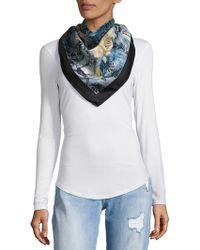 Saks Fifth Avenue - Foulard Printed Silk Scarf - Lyst