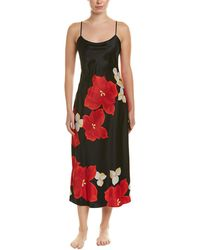 Lyst - Natori Tuvalu Nightgown in Black 2fe6685c6