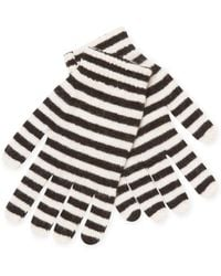 RED Valentino - Striped Gloves - Lyst