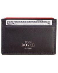 Royce - Rfid Blocking Executive Credit Card Case - Lyst