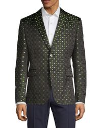 Valentino - Printed Silk Sportcoat - Lyst