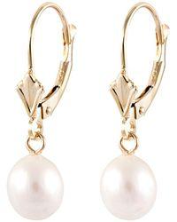 Splendid - 14k 6.5-7mm Freshwater Pearl Earrings - Lyst
