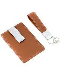 Bey-berk - Leather Travel Wallet With Money Clip - Lyst