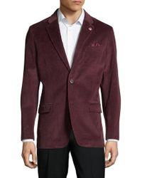 Ben Sherman - Ribbed Cotton Coat - Lyst