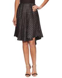 Alaïa - Embroidered Asymmetrical Skirt - Lyst