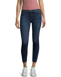 Hudson Jeans - Krista Rel Cropped Jeans - Lyst