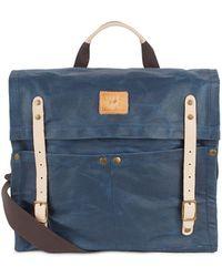 Will Leather Goods - Waxed Canvas Handbag - Lyst