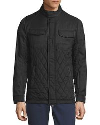 Tumi - Quilted Zip-up Jacket - Lyst