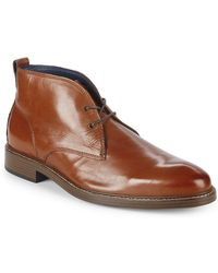 Cole Haan - Kennedy Grand Leather Chukka Boots - Lyst