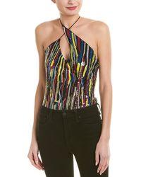 Cushnie et Ochs - Cushnie Asymmetrical Strapped Bodysuit - Lyst