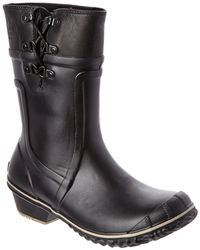 Sorel - Conquest Carly Waterproof Leather Boot - Lyst