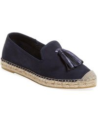 Elorie - Tassel Leather Espadrille - Lyst