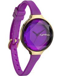 Rumbatime - Orchard Gem Silicone Amethyst 30mm Watch - Lyst