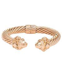 David Yurman - David Yurman Renaissance 18k Rose Gold Bracelet - Lyst