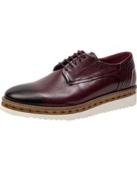 Jared Lang - Leather Derby Shoe - Lyst