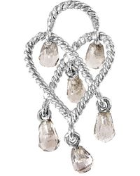 Poiray - 18k Smoky Quartz Enhancer - Lyst