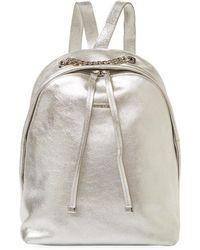 Furla | Spy Bag S Metallic Backpack | Lyst