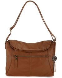 The Sak - Leather Flap Shoulder Bag - Lyst