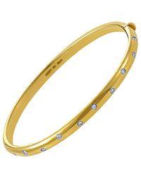 Heritage Tiffany & Co. Tiffany & Co. 18k & Platinum Bangle - Metallic