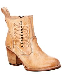 Bed Stu - Shrill Leather Bootie - Lyst