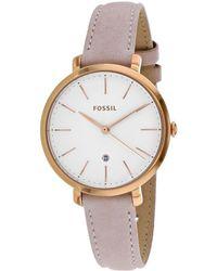 Fossil Women's Jacqueline Watch - Metallic