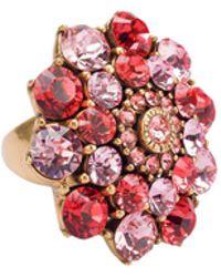 Oscar de la Renta - Jeweled Ring - Lyst